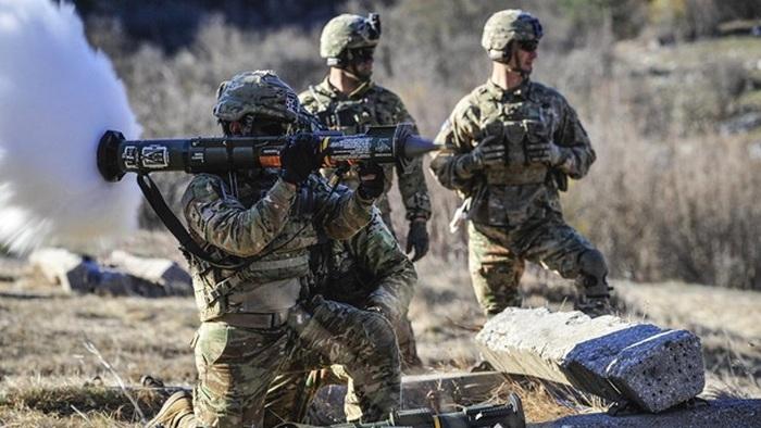 США начали серию военных учений в Европе