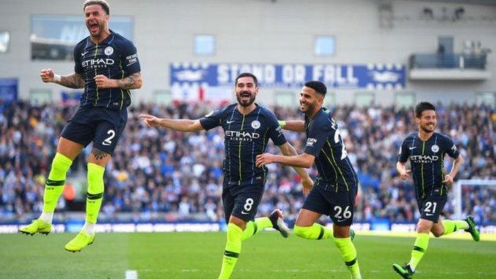 Манчестер Сити — чемпион Англии сезона 2018/2019!