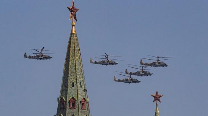 В Москве состоялся парад Победы (фото)