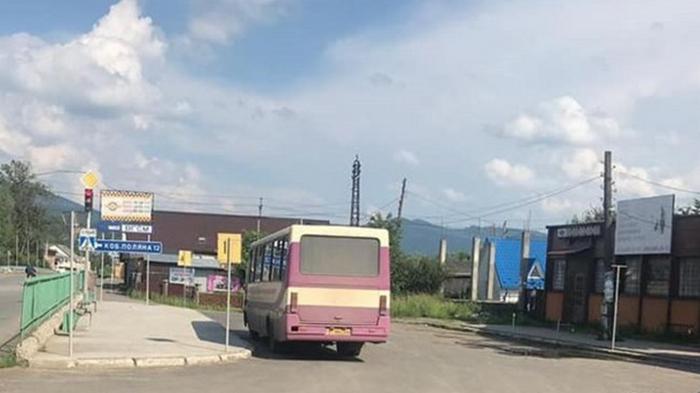 На Закарпатье зафиксировали перевозчика-нарушителя