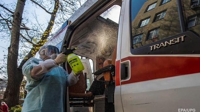 В Киеве 112 новых больных коронавирусом