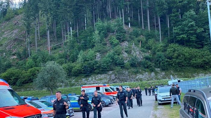 В Германии задержали Рэмбо, который неделю скрывался в лесу