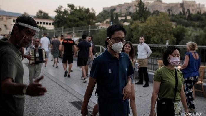 В Греции крупнейший прирост заражений коронавирусом с апреля