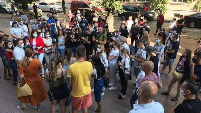 В Черновцах протестуют против усиления карантина