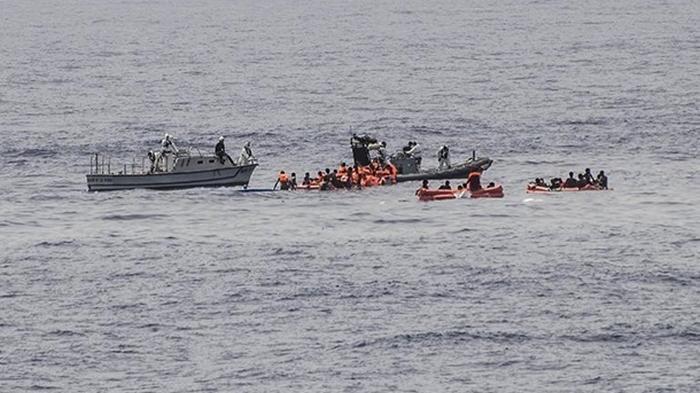 В Средиземном море утонули 45 беженцев