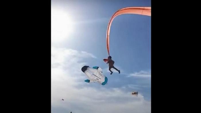 Воздушный змей унес трехлетнего ребенка в небо (видео)