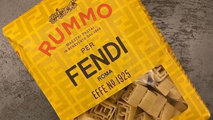 Бренд Fendi выпустил дизайнерские макароны