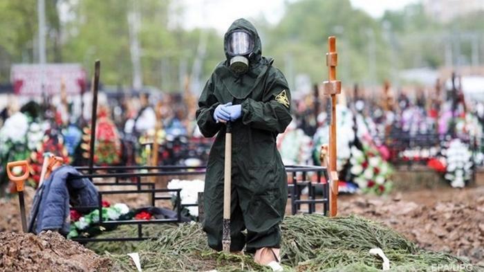 В России рекорд по заболевшим COVID-19 за три месяца