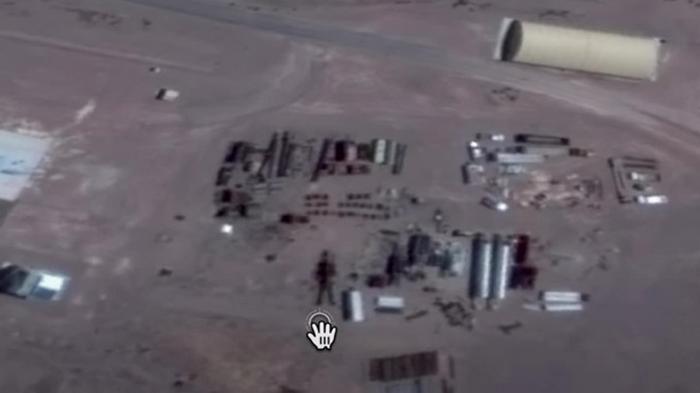 На Google-картах нашли гигантского робота (видео)