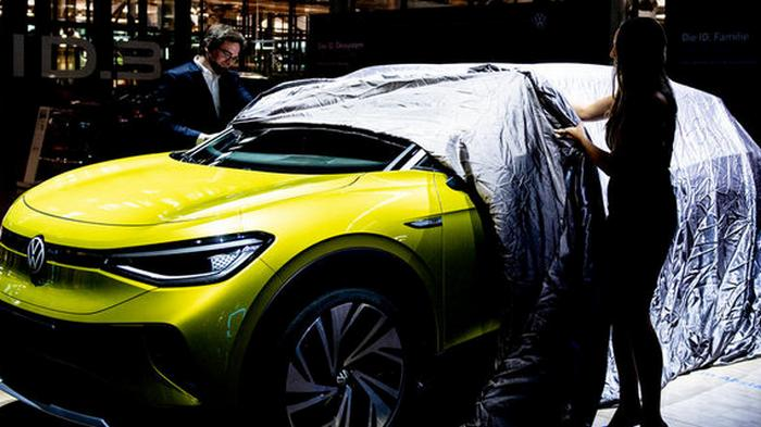 Электромобили в приоритете. Volkswagen запускает два новых завода в Китае
