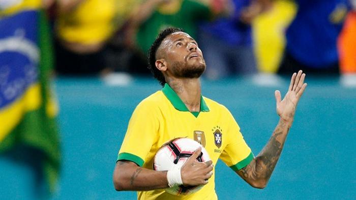Неймар получил травму на тренировке сборной Бразилии