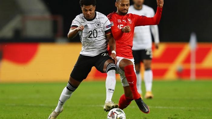 Германия и Швейцария в результативном матче сыграли вничью