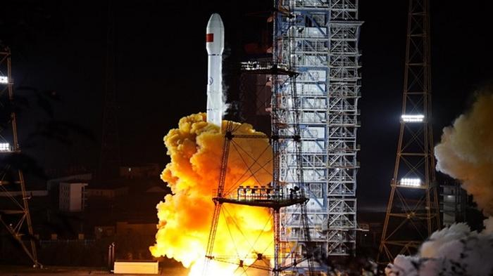 Китай вывел на орбиту спутник Gaofen-13