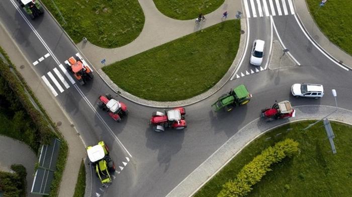 В Польше фермеры заблокировали дороги