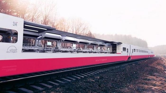 COVID-19. В Италии создают поезд-госпиталь для экстренной перевозки пациентов: фото