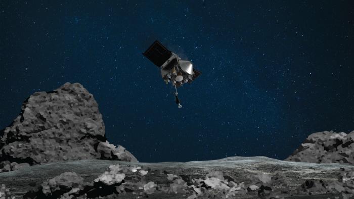 Контейнер с грунтом астероида упаковали в капсулу, пошатали из стороны в сторону – видео