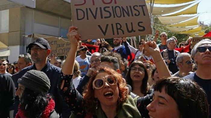 На Кипре прошли акции протеста против ужесточения карантина
