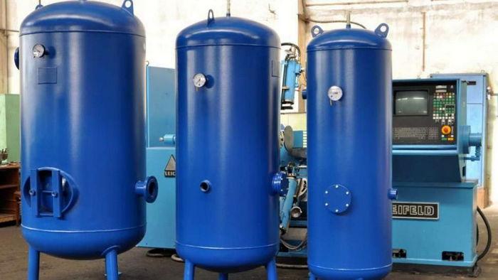 Основные правила выбора газовоздушного ресивера