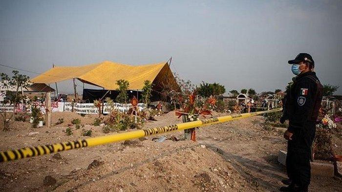В Мексике нашли массовое захоронение с останками более 100 человек