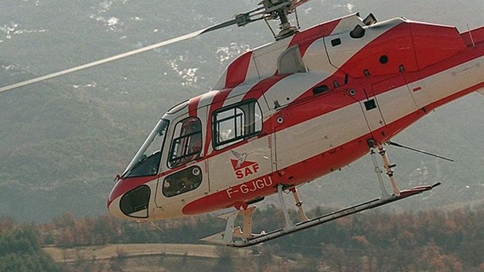 Во Франции упал спасательный вертолет, пятеро погибших