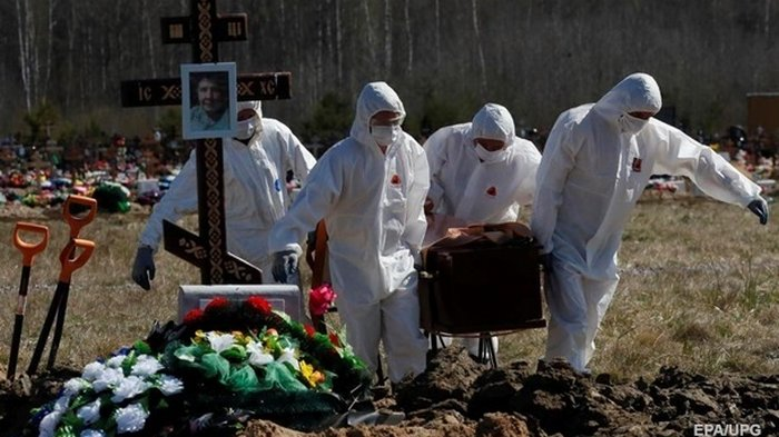 В России число жертв пандемии превысило 50 тысяч