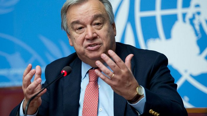 Генеральный секретарь ООН выступил с новогодним видеообращением (видео)