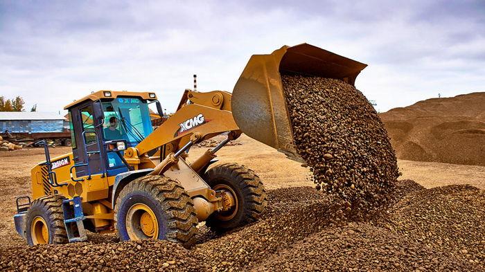 Песок и щебень для строительной индустрии