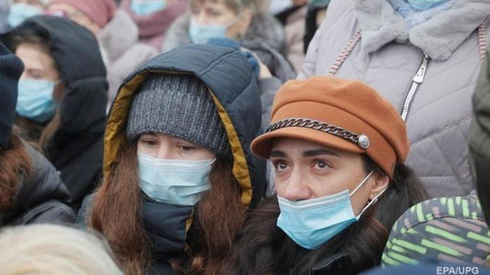 В Украине шесть дней растет заболеваемость COVID