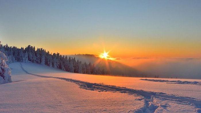 Карпаты укрыл почти метровый слой снега: фото зимней сказки в горах