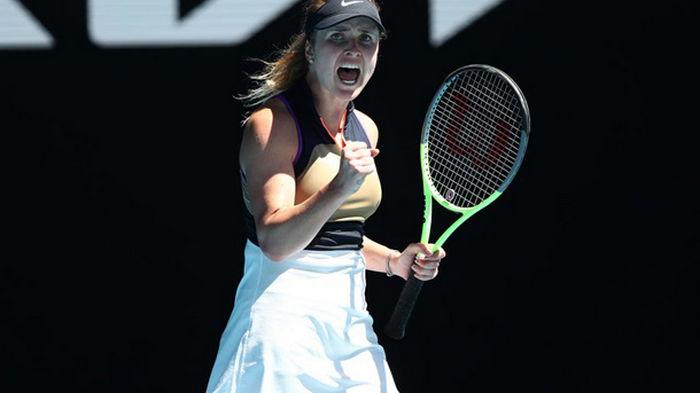 Свитолина обыграла Бузкову и вышла во второй раунд Australian Open