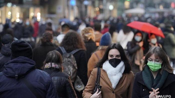 В Украине за сутки свыше двух тысяч COVID-случаев