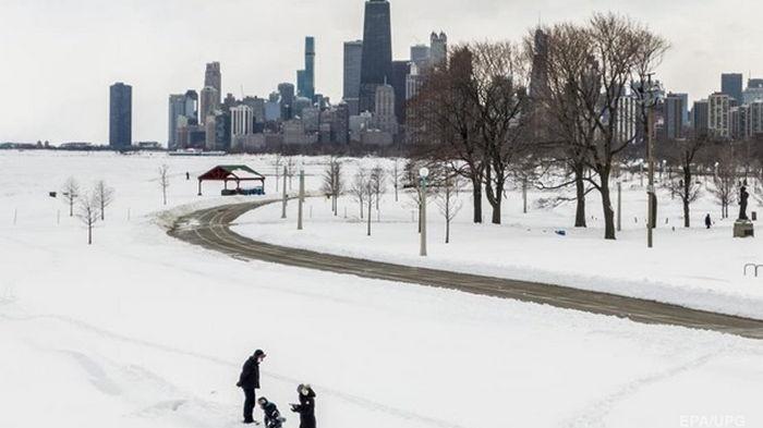В США жертвами экстремальных холодов стали более 20 человек