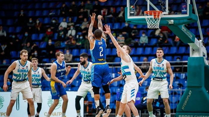 Украина обыграла действующих чемпионов Европы в отборе на Евробаскет-2022