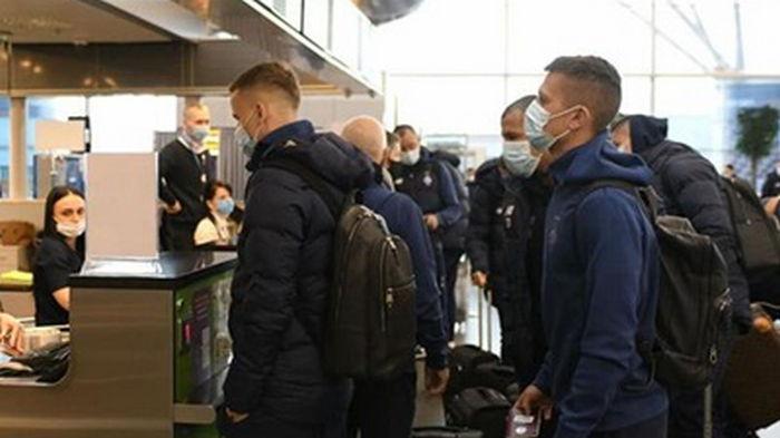 Динамо отправилось в Брюгге на матч Лиги Европы