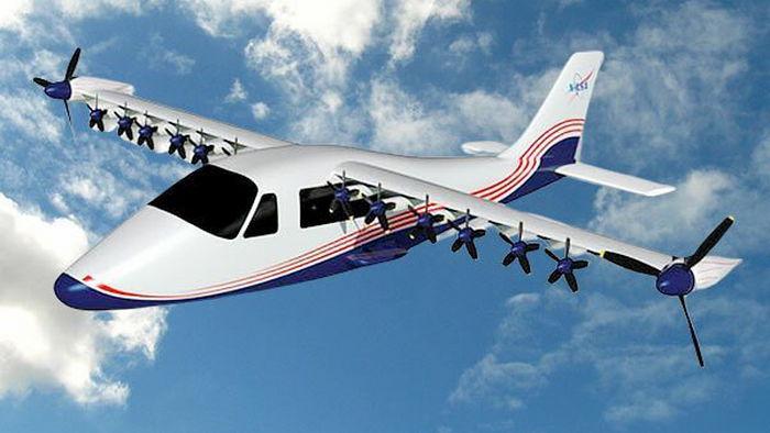 NASA показало свой первый электрический самолет: видео
