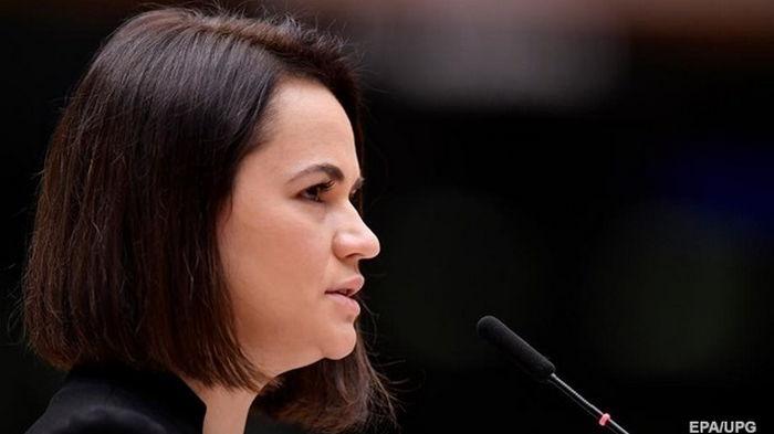 Тихановская выступила за расширение санкционного списка ЕС против Беларуси