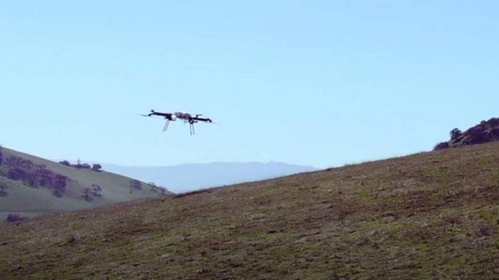 Американский дрон побил мировой рекорд (видео)