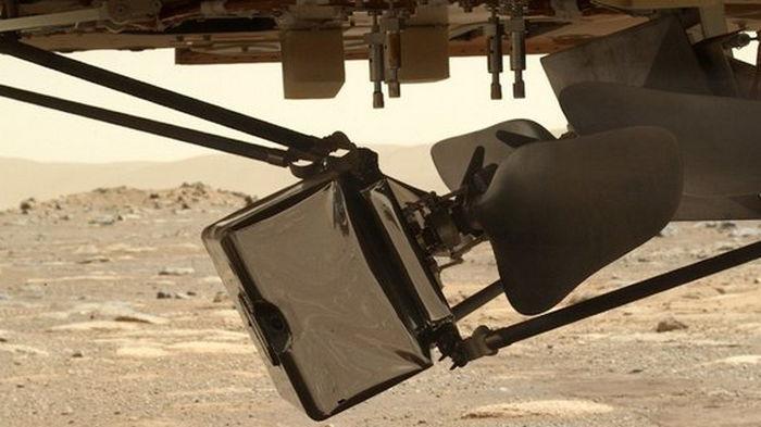 Американский дрон-разведчик на Марсе начали разворачивать в полетную форму