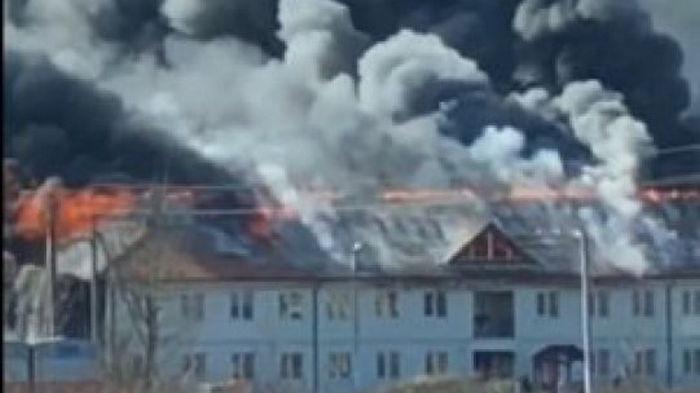 На Закарпатье горели дома, которые построили для переселения местных жителей – видео