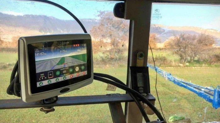 Использование GPS-контроля опрыскивателя