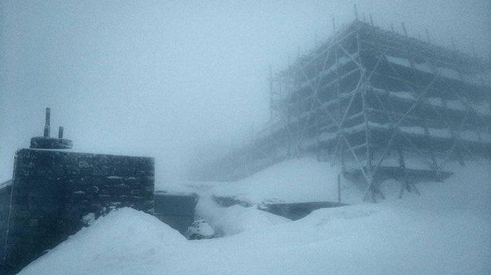 В Карпатах выпало до 15 см снега
