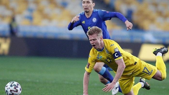 Зинченко – лучший игрок матча Украины с Казахстаном по версии WhoScored