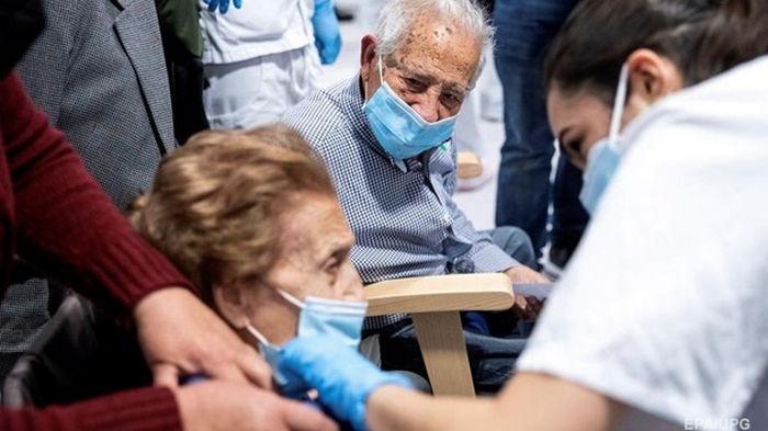 В Украине новый рекорд по COVID-заболевшим