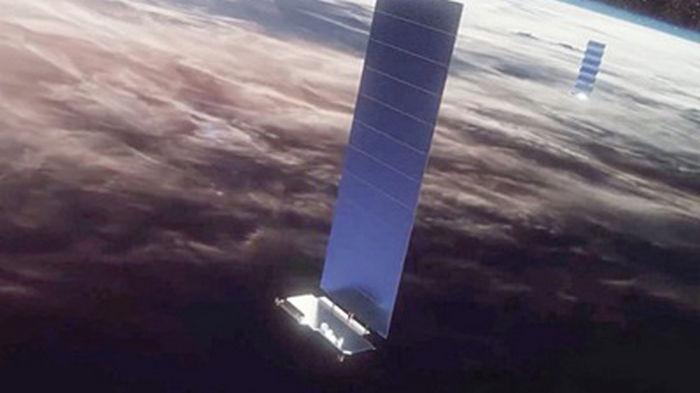 Starlink едва не столкнулся со спутником британской OneWeb (видео)