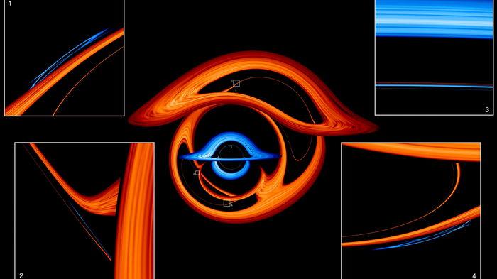 NASA показало мозголомный мир гипнотического танца пары сверхмассивных черных дыр: видео