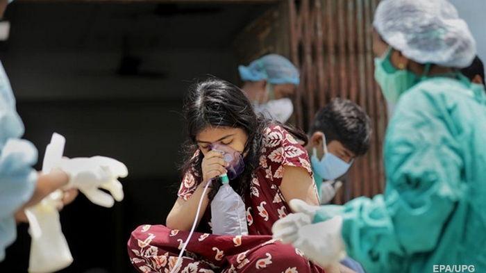 В Индии снова зафиксирован суточный мировой антирекорд заражения COVID-19