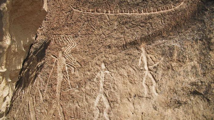 Изменение климата уничтожает древнейшие наскальные рисунки в мире
