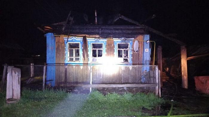 В России при пожаре погибла семья из шести человек
