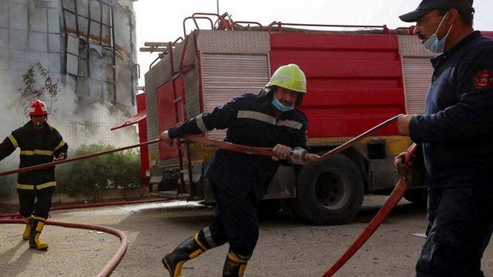 В египетской колонии произошел пожар, умерло шесть подростков