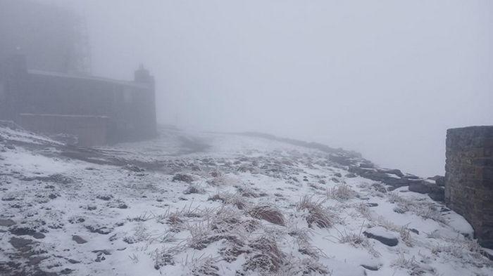 Летние снегопады в Карпатах не являются аномалией - синоптик